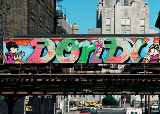 NYC GRAFFITI TRAIN